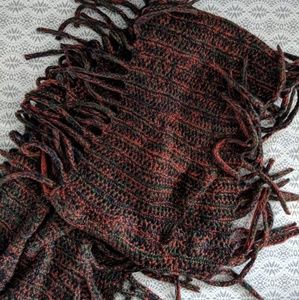 Accessories - Fringed scarf